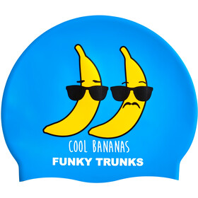 Funky Trunks Silicone Swimming Cap cool bananas